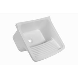 Tanque p/ lavanderia de plástico 24 litros - Astra - Hidráulica Tropeiro