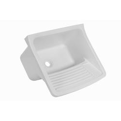 Tanque p/ lavanderia de plástico 20 litros - Astra - Hidráulica Tropeiro