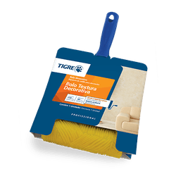 Rolo Texturart 3306-170- borracha -Tigre - Hidráulica Tropeiro