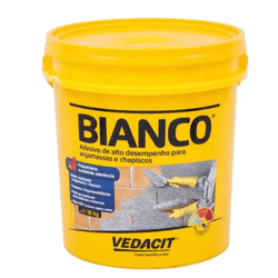 Bianco Balde 18L - Vedacit - Hidráulica Tropeiro