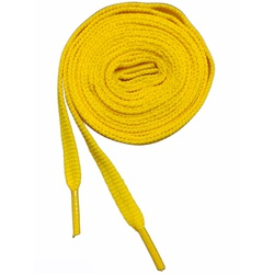 Cadarço Atacador Chato Amarelo - 150030-002 - IMPEC