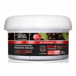 Creme de Massagem Pimenta Negra - 300g - 2383 - INFINITY LOJA