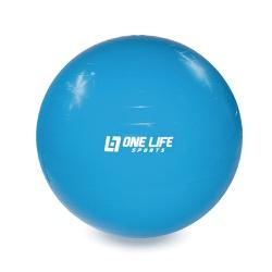 Bola Suiça Para Ginástica One Life 55 cm - Azul - ... - INFINITY LOJA