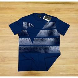 Camiseta Empório Armani Azul Peruana - EA-00605-02 - ATACADOPERUANAS