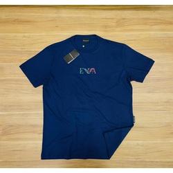 Camiseta Empório Armani Azul Peruana - EA-00605-06 - ATACADOPERUANAS
