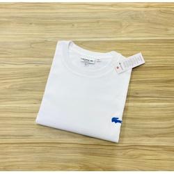 Camiseta Lacoste Básica 3D Branca Peruana - LCT-00... - ATACADOPERUANAS