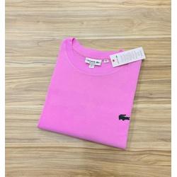 Camiseta Lacoste 3D Básica Rosa - LCT-00405-16 - ATACADOPERUANAS