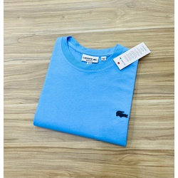 Camiseta Lacoste Básica 3D Azul - LCT-00405-11 - ATACADOPERUANAS