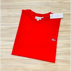 Camiseta Lacoste 3D Básica Vermelho - LCT-00405-14 - ATACADOPERUANAS