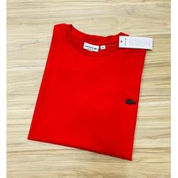 Camiseta Lacoste 3D Básica Vermelho - LCT-00405-15 - ATACADOPERUANAS