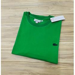 Camiseta Lacoste 3D Básica Verde - LCT-00405-02 - ATACADOPERUANAS
