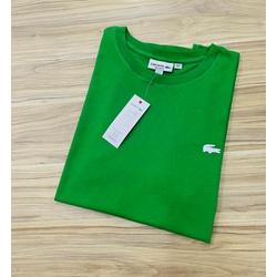 Camiseta Lacoste 3D Básica Verde - LCT-00405-04 - ATACADOPERUANAS