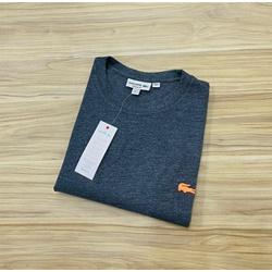Camiseta Lacoste 3D Básica Chumbo - LCT-00405-07 - ATACADOPERUANAS