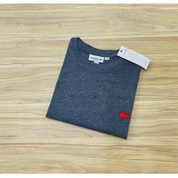 Camiseta Lacoste 3D Básica Chumbo - LCT-00405-08 - ATACADOPERUANAS