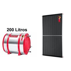 Boiler Solar 200l Baixa Pressão c/ Placa 2,00 x 1,... - Itapiscinas