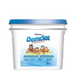 Cloro 3kg Domclor - VC5PP87YG - Itapiscinas