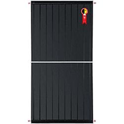 Placa Solar 10 Tubos 2,00 x 1,00 Komeco - D3JEK5X7 - Itapiscinas
