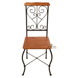 Cadeira de Jantar Encosto Arabesco - 65 - JLARTESANATO