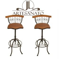 Kit 2 Banquetas Bistrô 10x Sem Juros - 3 - JLARTESANATO