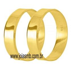 5844 - Alianças 5mm de Casamento Vianópolis - Joias MB