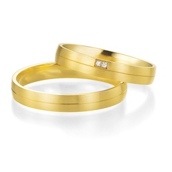 5130 - Alianças 2,5mm de Ouro Formosa - Joias MB