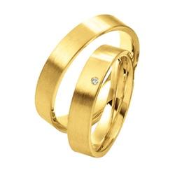 4721 - Alianças 4mm de Casamento Bonito - Joias MB
