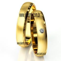 7025 - Alianças 5mm de Casamento Edimburgo - Joias MB