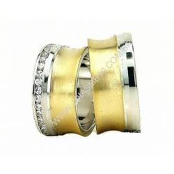 4405 - Alianças de Casamento Prata 10,6mm - Joias MB