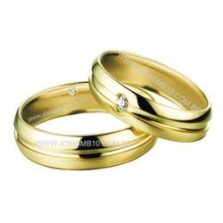 4602 - Alianças de Casamento Santa Luzia 7,8mm - Joias MB