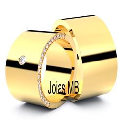 5754 - Alianças de Ouro Joao Pessoa - Joias MB