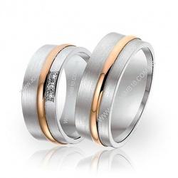 5909 - Alianças de Casamento Apucarana 7,5mm - Joias MB