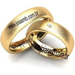 6063 - Alianças de Casamento Guanambi 5mm - Joias MB