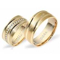 5320 - Alianças de Casamento Casa Nova 8mm - Joias MB
