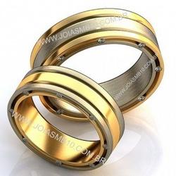 5800 - Alianças de Casamento São Bento do Sul 7,4mm - Joias MB