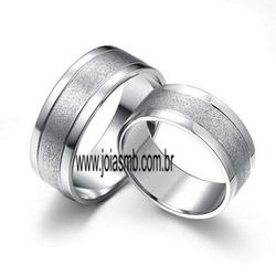 5570 - Alianças de Casamento Frutal 8mm - Joias MB