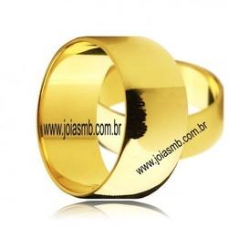 7037 - Alianças de Casamento Icó 9mm - Joias MB