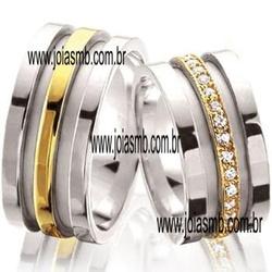 4983 - Alianças de Casamento Oliveira 11,5mm - Joias MB