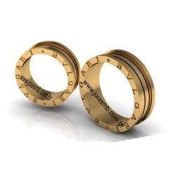 5095 - Alianças de Casamento Votuporanga 10mm - Joias MB