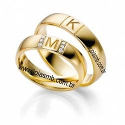6084 - Alianças de Casamento Odivelas 6,4mm - Joias MB