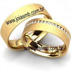 6062 - Alianças de Casamento Petrolina 6mm - Joias MB