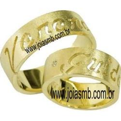 6086 - Alianças de Ouro Catalão - Joias MB
