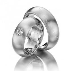 3772 - Alianças de Casamento Recanto das Emas 9,5mm - Joias MB