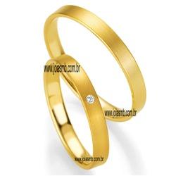 4497 - Alianças 3,3mm de Casamento Quixeramobim - Joias MB