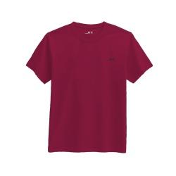 Camiseta Masculina Básica - Vinho - 5143 - JR Confeções