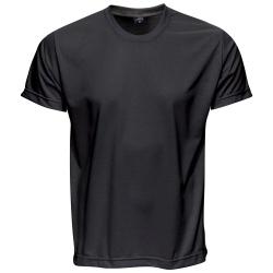 Camiseta Básica Unissex Preta - 4066 - JR Confeções