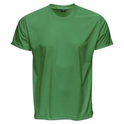 Camiseta Básica Unissex Verde Bandeira - 4066 - JR Confeções