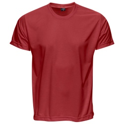 Camiseta Básica Unissex Vermelha - 4066 - JR Confeções