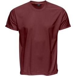 Camiseta Básica Unissex Vinho - 4066 - JR Confeções