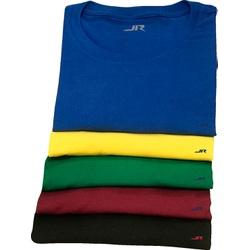 KIT Camisetas de Algodão - 5 Peças - 2068 - JR Confeções