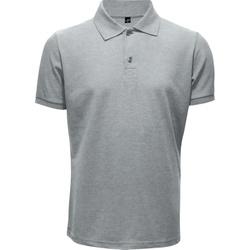 Camisa Polo Masculina Cinza Mescla - 4136 - JR Confeções